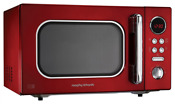 Morphy Richards Accents Colour Collection 511512 23l Digital Solo Microwave Red