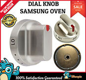 For Samsung Gas Range Knob Dial Oven Stove Cooktop Burner Replacement Parts New