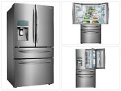 Samsung Food Showcase 4 Door French Door Stainless Steel Refrigerator 27 8 Cu Ft
