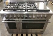 Refurbished Dcs 48 Dual Fuel Range 6 Burners Griddle With Factory Warranty