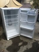 Whirlpool 19 6 Cu Ft Frost Free Upright Freezer White