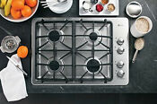 Ge Pgp943setss Profile Series 30 Built In Gas Cooktop