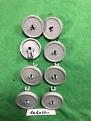 8 Dishwasher Lower Rack Wheels Clips For Frigidaire Kenmore 154174401