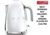Smeg Klf03ssuk Chrome 50 S Retro Style Kettle With Limescale Filter 3000 Watt