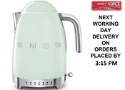 Smeg Klf04pguk Pastel Green Retro 50 S Style Kettle Variable Temperature