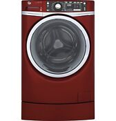 Ge Gfw490rpkrr 4 9 Cu Ft Rightheight Design Front Load Washer W Steam