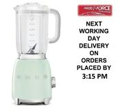 Smeg Blf01pguk Pastel Green Bpa Free Blender 800 Watt 2 Year Guarantee