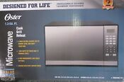 Oster Microwave Grill Stainless Steel Oven With Mirror Finish 10 Cooking Levels