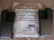Whirlpool Certified Parts Stove Black Endcaps 814560