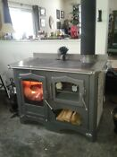 Wood Burning Cook Stove Regina Made In Italy Ul Ulc Certified Marble Tile