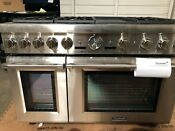 Thermador Pro Grand Series 48 Dual Fuel Freestanding Range Stainless Steel