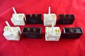 W10613606 Whirlpool Refrigerator Relay Overload Start Capacitor New 4 Pack