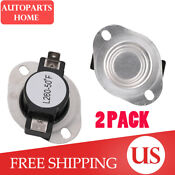 2 Pack Dc47 00018a Dryer Thermostat Replacement Part