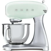Smeg Smf02pguk Pastel Green Retro 50s Stand Mixer Brand New 2 Year Guarantee