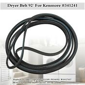 92 Dryer Belt For Kenmore Maytag Whirlpool Amana 341241 Ap2946843 Ps346995