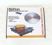Max Burton 8 Induction Interface Disk With Heat Proof Handle Model 6010