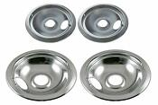 Stove Drip Pan Electric Burner Covers Top Bowl Pans For Frigidaire Kenmore