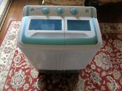 Portable Compact Mini Tub Washing Machine 12 Lbs Capacity With Spin Dryer