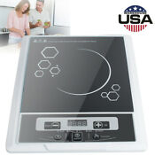 Ussale 2000w 110v Digital Electric Induction Cooktop Countertop Burner Cooker
