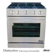 Dacor Dr30gifs 30 Slide In Gas Range With Perma Flame Technology