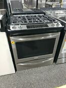 Frigidaire Gallery Series 30 Slide In Dual Fuel Range Stainless Steel Fgds3065ss
