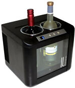 Vinotemp Wine Cooler 2 Bottle Touch Screen Digital Control Thermoelectric