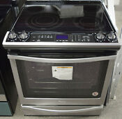 Whirlpool Wee745h0fs 30 Slide In Electric Range With Convection