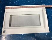 Kenmore Microwave Door Black Part 3720w0d087b Excellent Condition