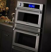 Viking 30 Turbochef Double Electric Speed Wall Oven Vdot730ss