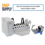 Snap Supply Ice Maker Water Valve Kit Wr30x10093 Wr57x10051 For Ge