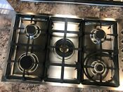Qb36500x Bertazzoni 36 Gas Cooktop Stainless Steel Display Model