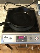 Used Update International Ic 1800w Induction Cooker With Ceramic Top