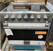 New Out Of Box Viking 30 Electric Range Stainless Steel 5 Radiant Burners