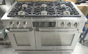 Dacor Dyrp48dsng Renaissance Series 48 Slide In Gas Range