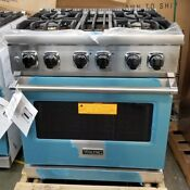 New Out Of Box 30 Dual Fuel Range With Convection Oven Stainless Steel 4 Burner