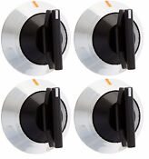 4 X 330190 Range Knob Pack Of 4 For Whirlpool