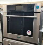 Viking Single 30 Thermal Convection Oven Stainless Steel Virtuoso 6 Series