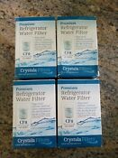 4 Pack Premium Refrigerator Replacement Water Filter Model Cf8 Replaces Ge Mwf