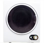 Electric Compact Dryer With Timer Stainless Steel Tub Front Loading 1 5 Cu Ft