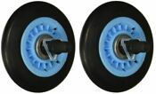 2 Pack Drum Roller Compatible With Samsung Dryer Dc97 16782a Ap5325135 Ps4221885