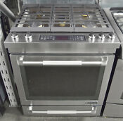 Jenn Air Jds1450fp 30 Pro Style Stainless Steel Slide In Dual Fuel Range
