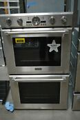 Thermador Professional 30 Double Electric Convection Wall Oven Podc302j Exclnt