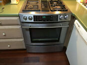 Jenn Air Modular Gas Dual Fuel Downdraft Range Model Jds9860bds