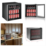 Frigidaire 70 Can Glass Door Countertop Wine Soda Beer Beverage Refrigerator New