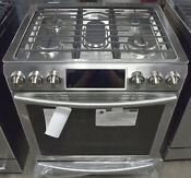 Samsung Nx58h9500ws 30 Slide In Gas Range With Convection