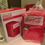 Coca Cola Mini Fridge W Box Open Box