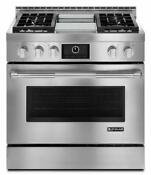 Jenn Air Jdrp536wp Pro Style 36 Freestanding Stainless Steel Dual Fuel Range