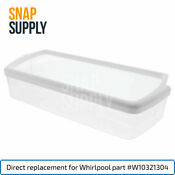 Prysm Refrigerator Door Bin Clear For Whirlpool Directly Replaces W10321304
