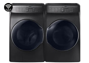 Samsung Wv55m9600av Dvg55m9600v 27 Side By Side Washer Gas Dryer W Wi Fi