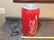 Koolatron Coca Cola Can Mini Fridge Countertop Dorm Office Auto